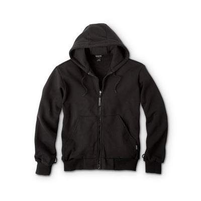 key features Men's 3-In-1 Cotton Canvas Work Jacket With Detachable Fleece Hoodie Sweatshirt Liner - Dark Brown