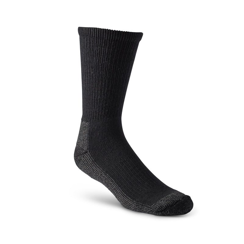 Men's Ultimate Steel Toe Socks with double sole cushioning - Black