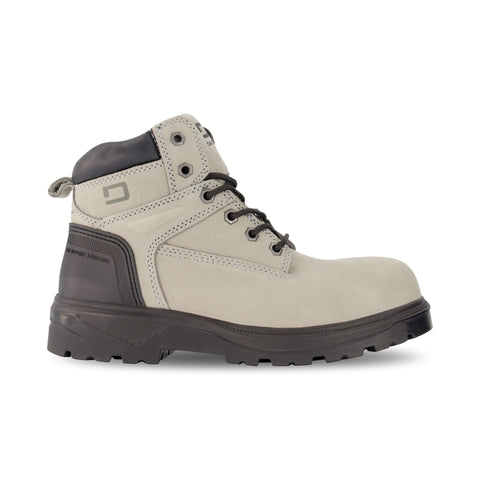 Women's Ellie 6 Inch Safety Work Boots Steel Toe Plated - Grey