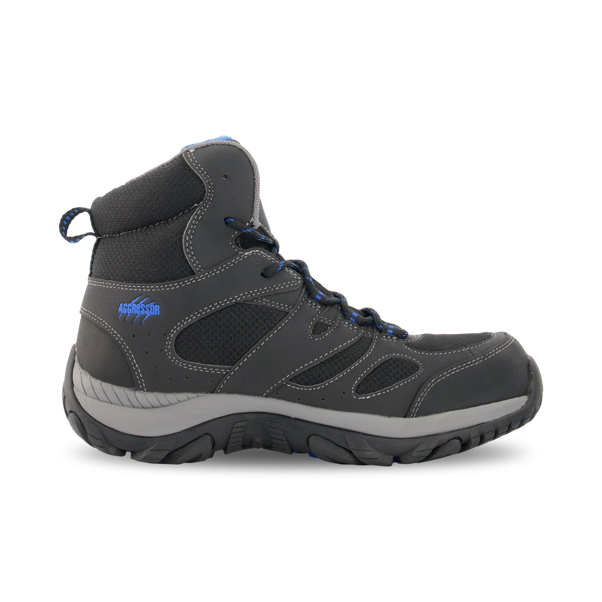 Safety Work Shoe Steel Toe Plated