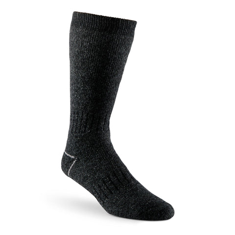 Men's Stretch Wool Blend Thermal Work/Hiking Socks - Charcoal Melange