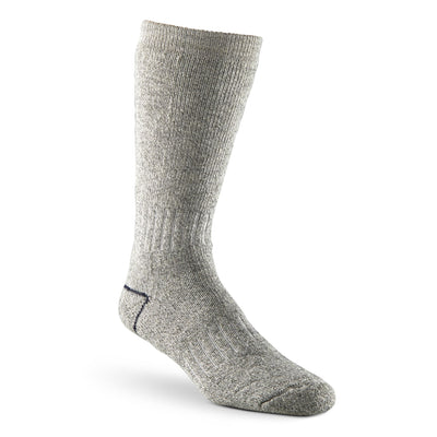 key features Men's Stretch Wool Blend Thermal Work/Hiking Socks - Gray Melange