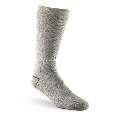 Men's Stretch Wool Blend Thermal Work/Hiking Socks - Gray Melange