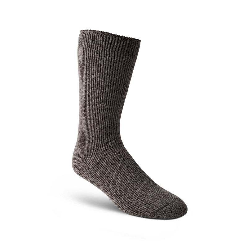 Men's Basic Work Crew Socks, T-Max Insulation - Charcoal