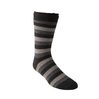 key features Men's Thermal Insulated Outdoor/Hiking Boot Socks for Cold Weather - Gray/Black