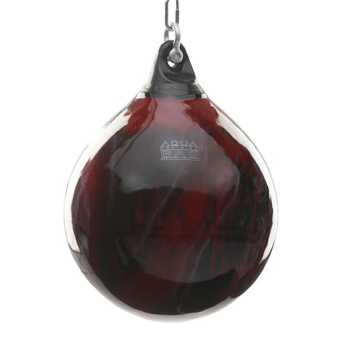 "Image of AQUA BAG 21"" 190LBS. HEAVY BAG - BLOOD RED"