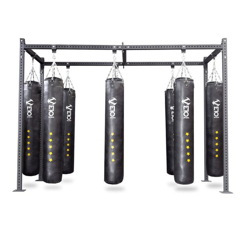 Image of MULTI STATION HEAVY BAG RACK