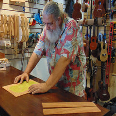 Robert Yates (Uncle Uke) - Owner / Lead Designer & Builder of HUG Ukuleles