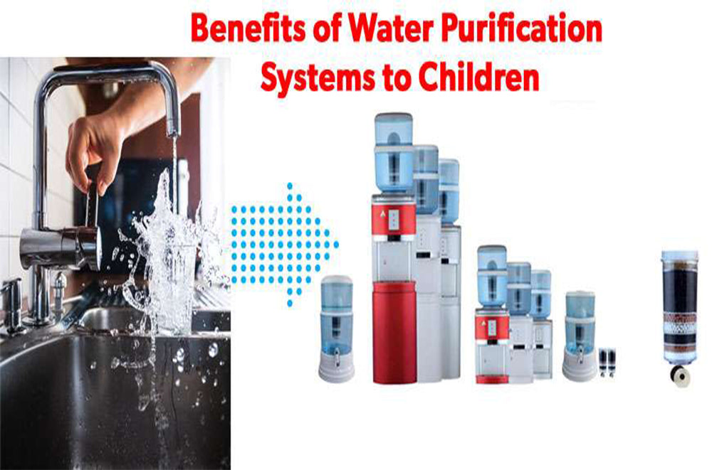 Benefits of Water Purification Systems to Children