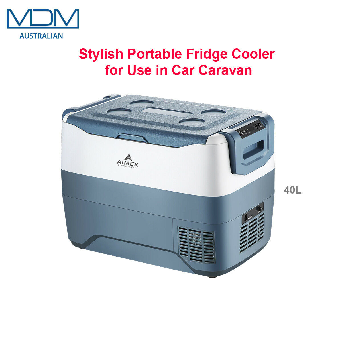 Portable Fridge Cooler For Outing Hiking Camping Use in Car Caravan 40 Ltr Aimex - MDMAustralian