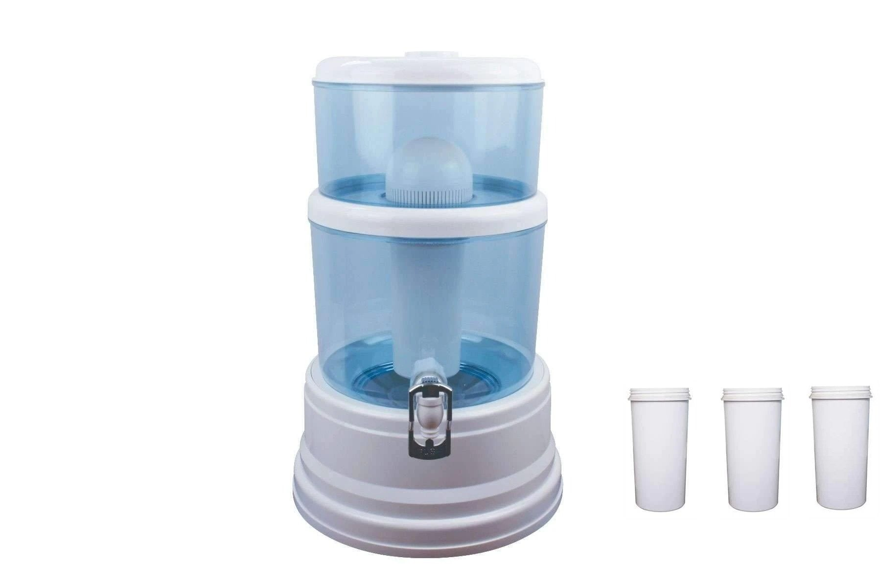 16 litre with 3 Algae Shield Filters Water Dispenser - MDMAustralian