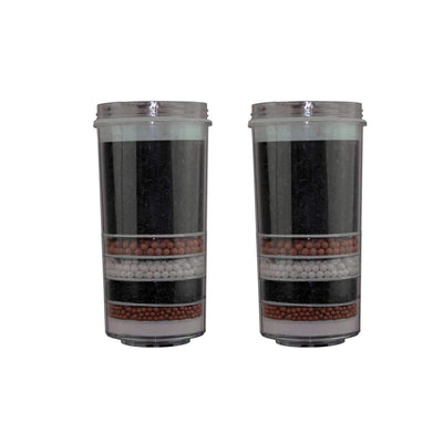 Aimex 7 Stage Water Filter Activated Charcoal Ceramic Purifier KDF Filter X 2pc - MDMAustralian