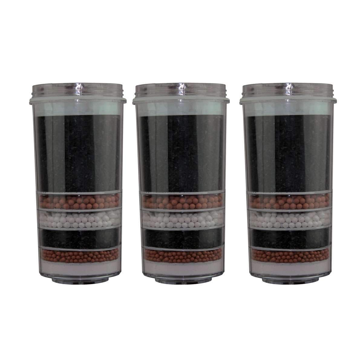 7 stage KDF Charcoal Ceramic Aimex Water®️ Filters 3 Pack - MDMAustralian
