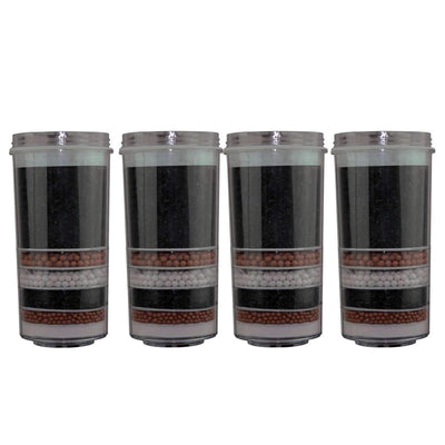 Aimex 7  Stage Water Filter Activated Charcoal Ceramic Purifier KDF Filter X 4pc - MDMAustralian
