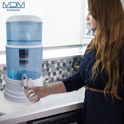 Aimex Water Purifier 8 Stage Water Filter Dispenser 20L Maifan Stone + 3 Filters - MDMAustralian
