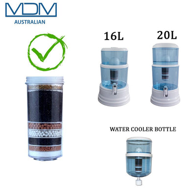 Aimex MDM Fluoride Water Reduction Control Filter Ceramic Cartridge 8 Stage - MDMAustralian