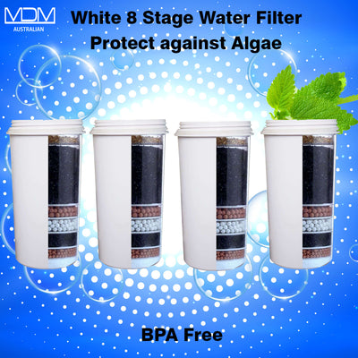 Aimex MDM Water Filter 8 Stage Algae Shield X 4 - MDMAustralian