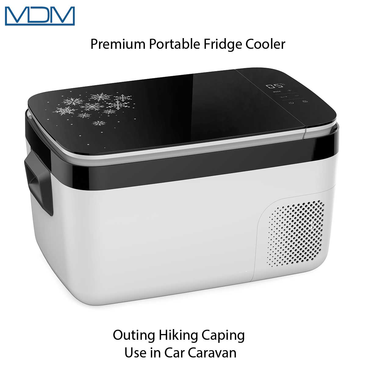 Premium Portable Fridge Cooler Outing Hiking Caping Use in Car Caravan 25LAimex - MDMAustralian