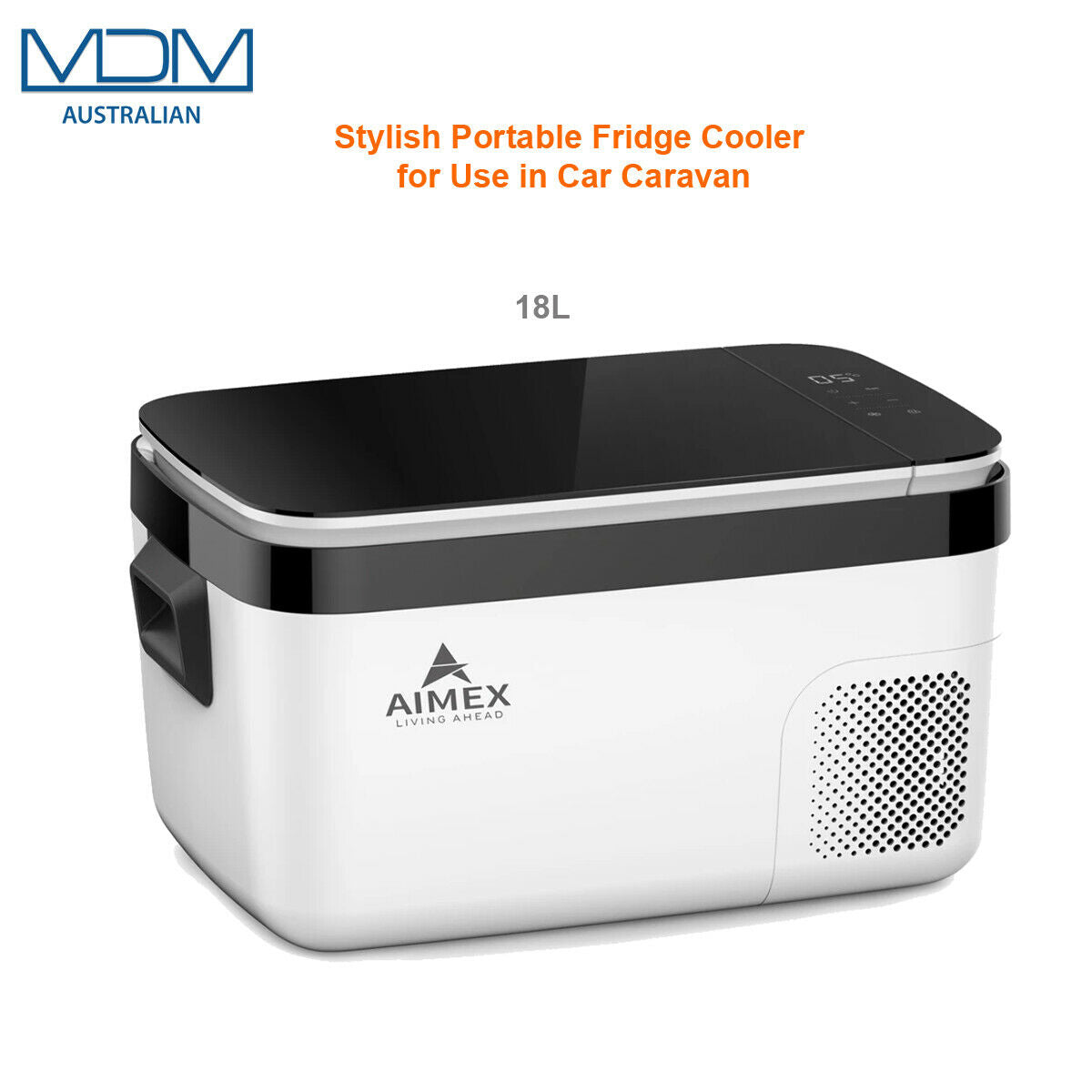 Stylish Portable Fridge Cooler Outing Hiking Caping Use in Car Caravan 18L Aimex - MDMAustralian