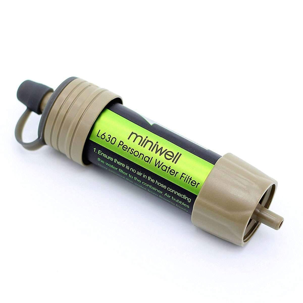 MDM Aimex  Water Portable Personal Water Filter for Camping Hiking Adventure - MDMAustralian