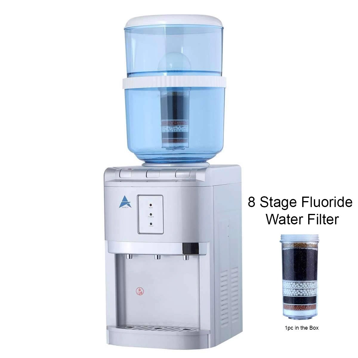 Benchtop Aimex Water Cooler hot cold Ambient Fluoride Filter Silver Pre Order  04/012/2020 - MDMAustralian