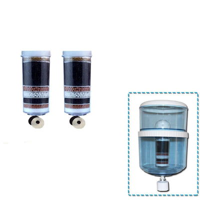 Aimex MDM Water Fliter Bottle for any Cooler with 2 8 Stage Water Filter - MDMAustralian