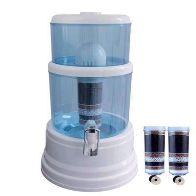 Aimex Water 16L Dispenser BenchTop Purifier Jug 8 Stage Water Filter + 3 Filters - MDMAustralian