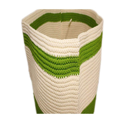 New Storage Household Organizer Colors Foldable Basket Container Fabric green