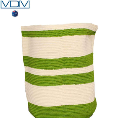 New Storage Household Organizer Colors Foldable Basket Container Fabric green - MDMAustralian