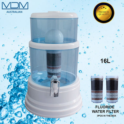16l Aimex Water Purifier with X 3 8 Stage Fluoride Water Filter - MDMAustralian