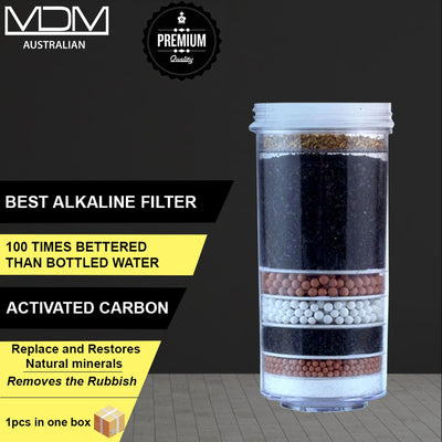 Aimex Water ® Filter Cartridge 6 7 8 Stage Activated Carbon Purifier - MDMAustralian
