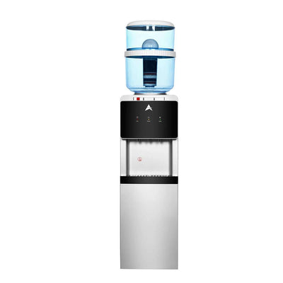 Water Cooler Dispenser Stand hot cold Ambient Taps Filter Purifier 20L Bottle Black - MDMAustralian