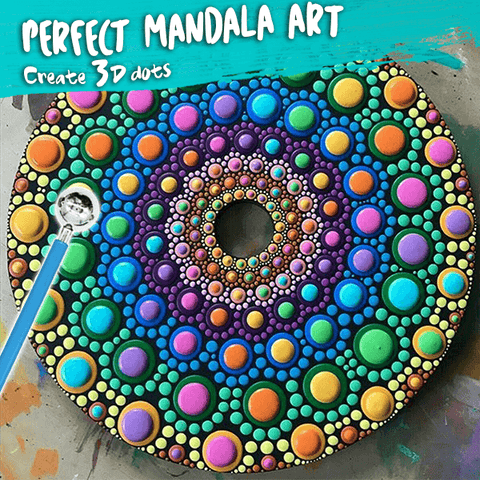Mandala Drawing Tool Kit (20pcs)