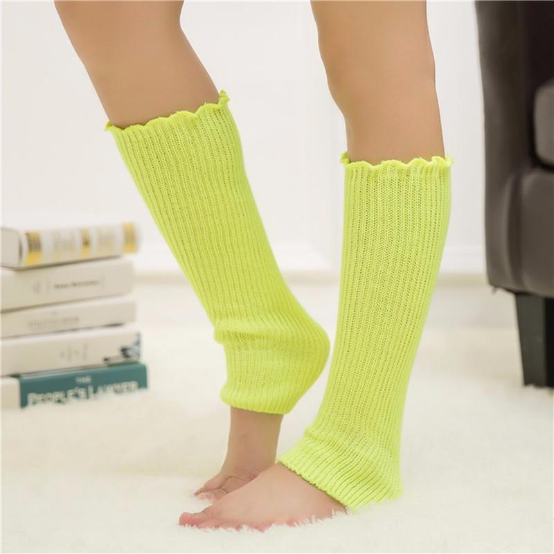 Elastic Warm Crochet Boots Long Socks Knited Leg Warmers