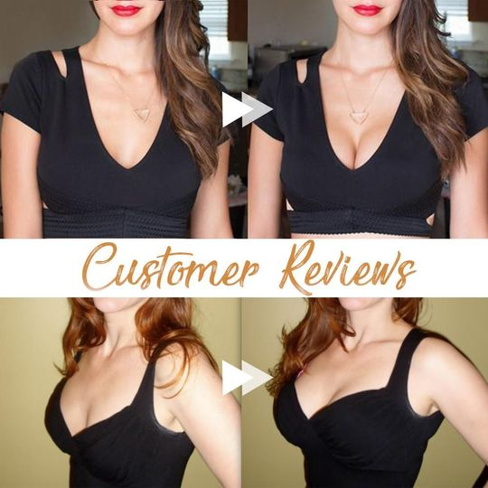 Invisible Strapless Plunge Bra