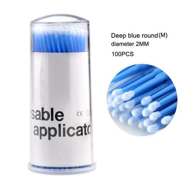 Durable  eyelash disposable miniature brush