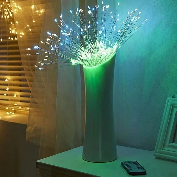 LED Starburst Lights w/ Remote, 8 Modes & Waterproof