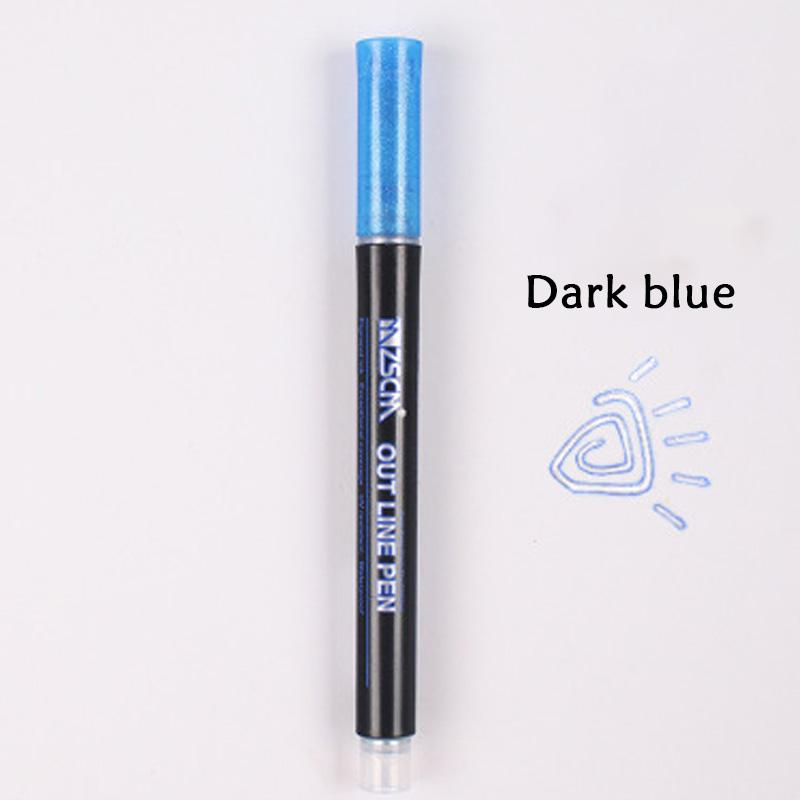【BUY 2 FREE SHIPPING】Double Line Fluorescent Pen--50% OFF ONLY TODAY