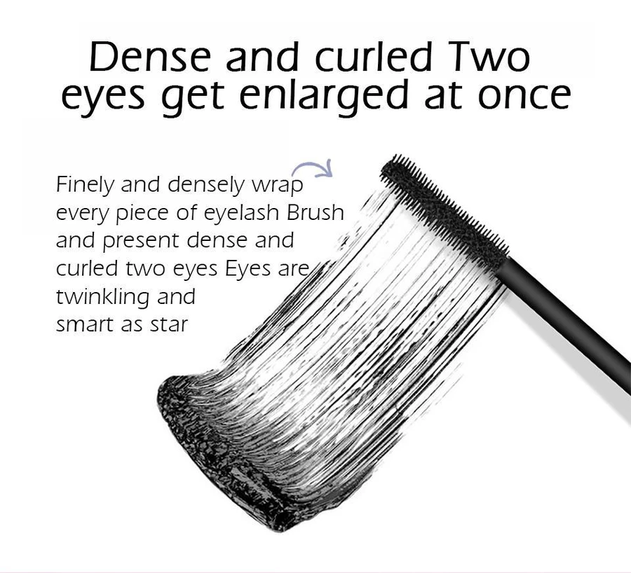 4D Waterproof Silk Fiber Thick Lengthening Mascara - Young girls are using it