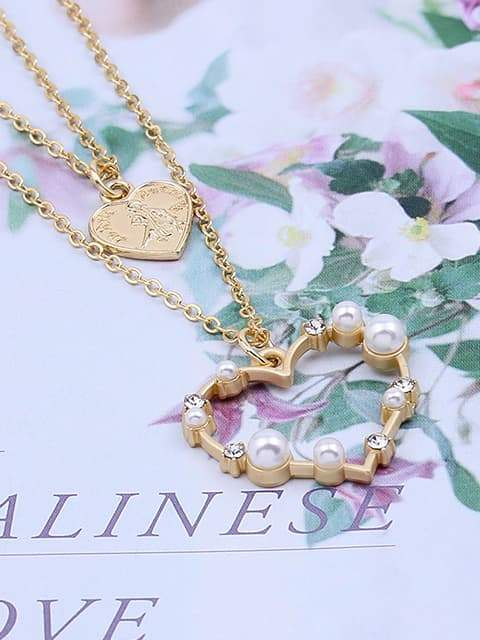Heart-shaped Multi-layer Necklace