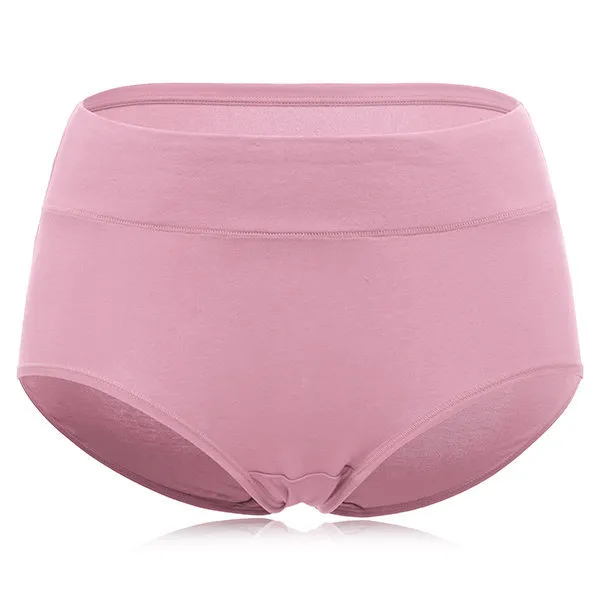 Cotton Seamless Solid Panty Breathable Briefs