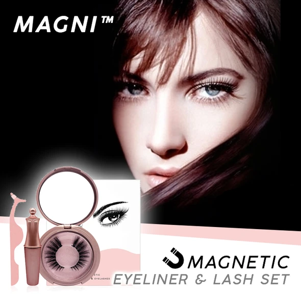MAGNI Eyeliner & False Eyelash Set