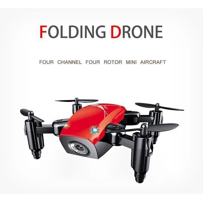 【FOLDING DRONE】FOUR CHANNEL/FOUR ROTOR MINI AIRCRAFT