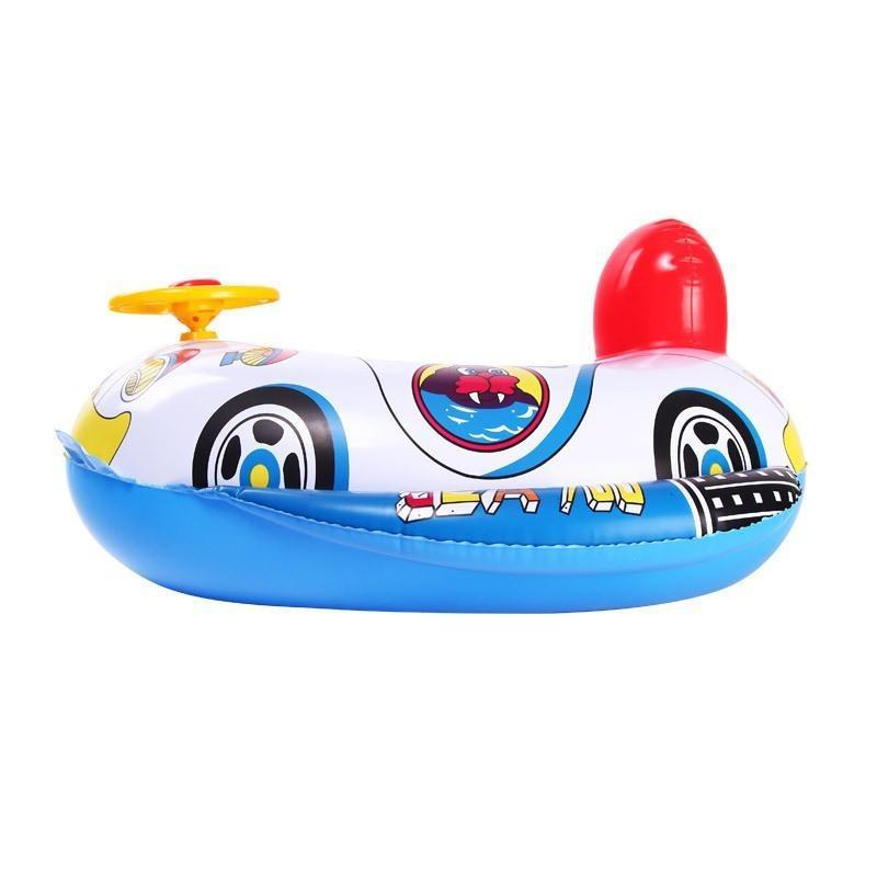 Lifebuoy Cute Baby Inflatable Swimming Pool Ring Seat