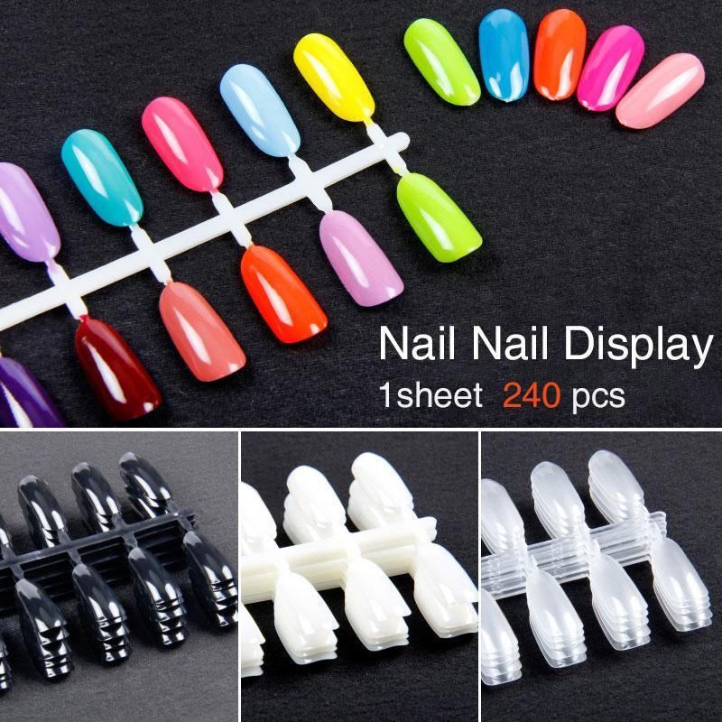 240pcs / Set False Nail Gel Tool
