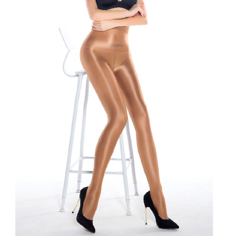 Women Sheer 70D Oil Pantyhose Tights