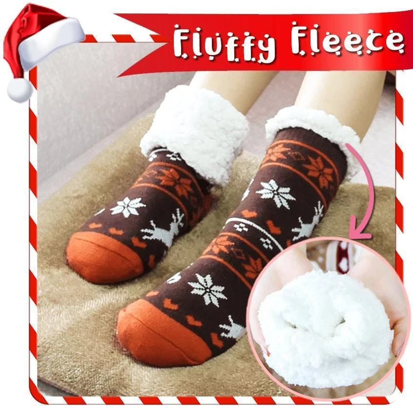 Thermal Fleece Feet Warmers
