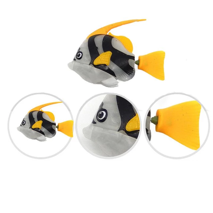 Original fish cat toy-Surprise Your Cat With This Lifelike Swimming Fish!