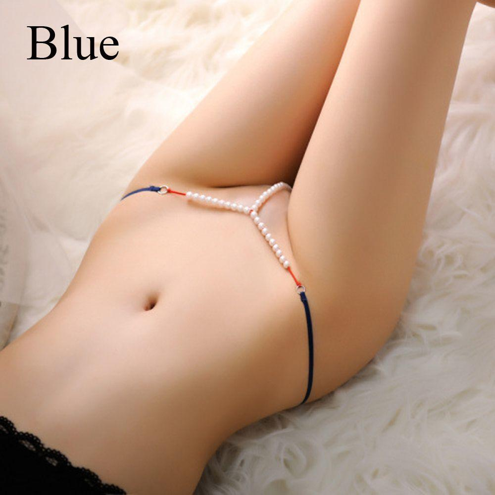 Elastic Nightwear Panties Thongs