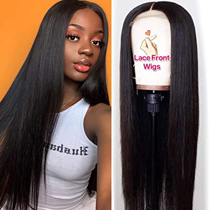 Brazilian Hair Lace Front Wigs Blonde Color
